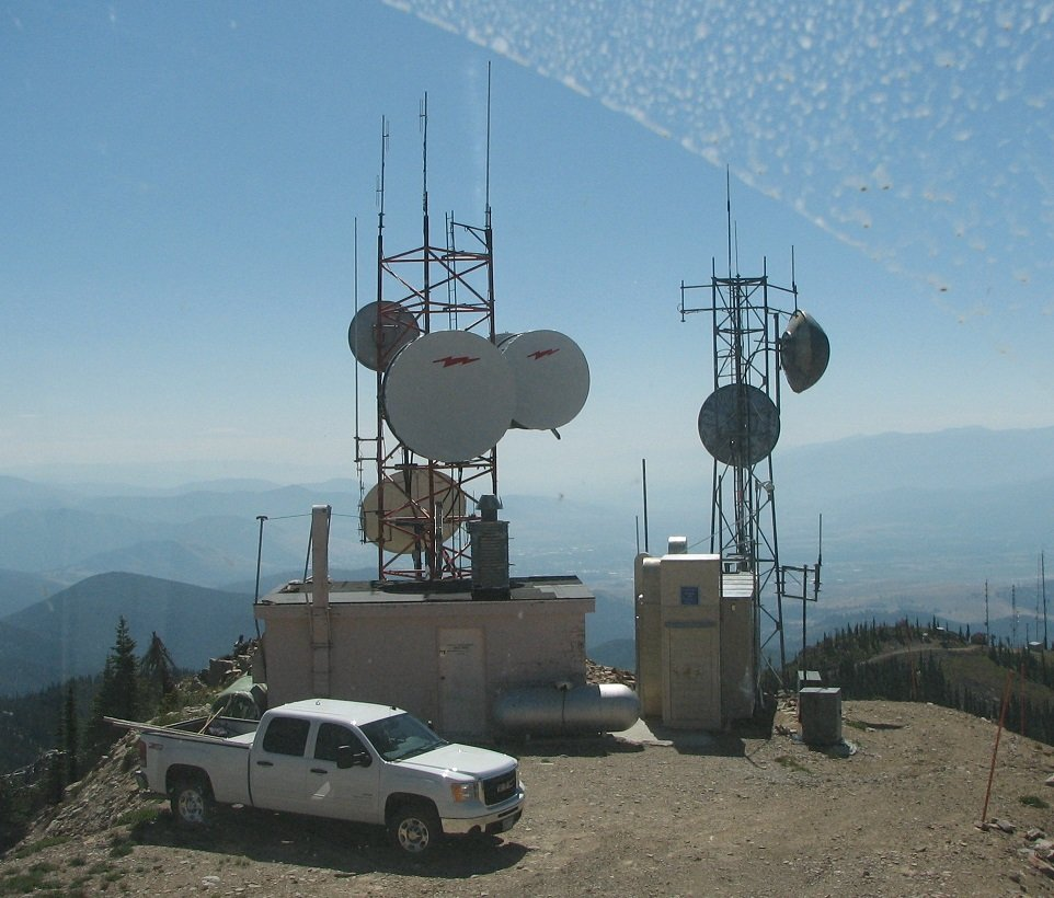 Radio Repeater tower (QRZ Now)