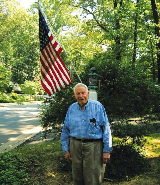 Walter Mess, age 93, 2013