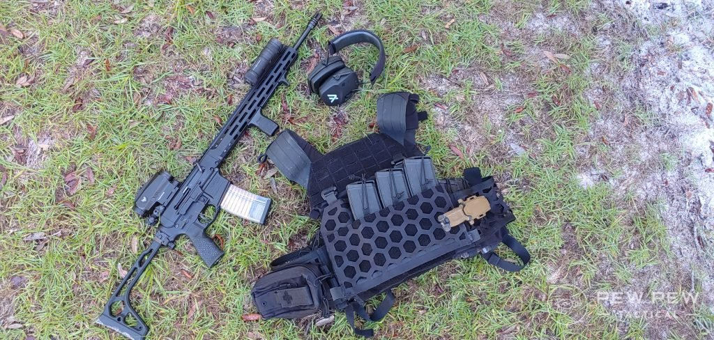 5.11 Tactical AMP Plate Carrier loadout