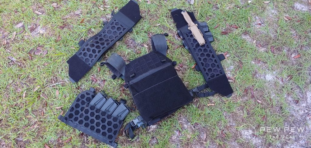 5.11 Tactical AMP Plate Carrier all parts