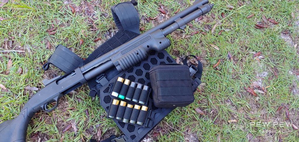 5.11 Tactical AMP Plate Carrier shotgun loadout