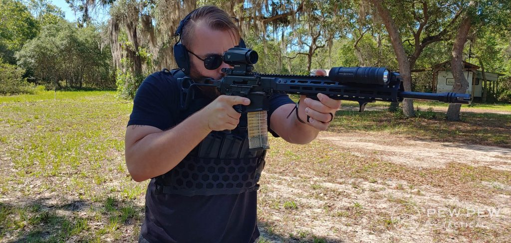 Shooting with the 5.11 Tactical AMP Plate Carrier