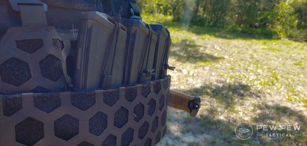 5.11 Tactical AMP Plate Carrier kangaroo pouch and mag pouches