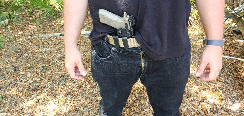 Appendix with Gun