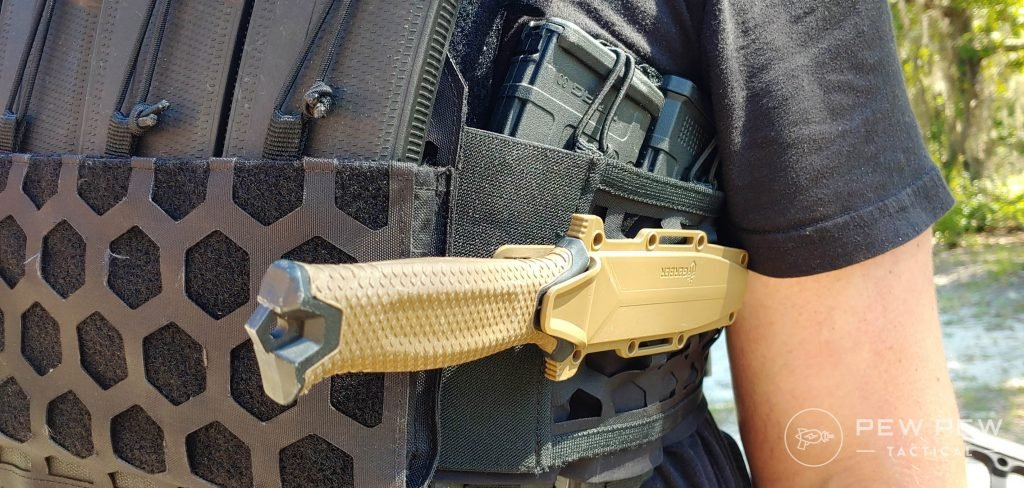 5.11 Tactical AMP Plate Carrier with knife