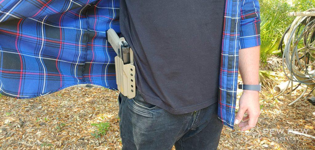Concealing a Big Gun