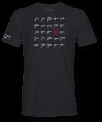 pew pew tactical retro laser gun tee